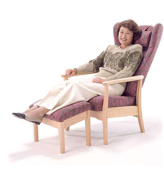 楽に座れる椅子